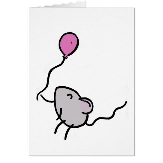 Happy Birthday! Mouse Card