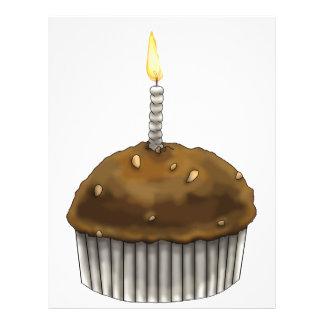 Happy Birthday Muffin 21.5 Cm X 28 Cm Flyer