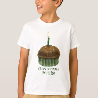 Happy Birthday Muffin T-Shirt