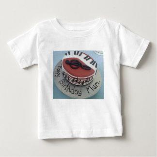 Happy birthday mum cake baby T-Shirt