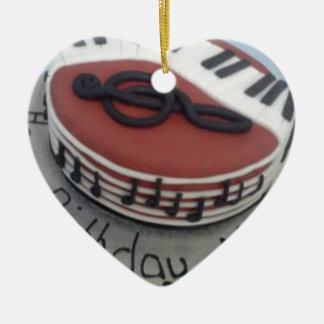 Happy birthday mum cake christmas ornament