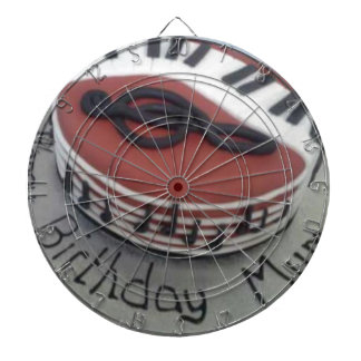 Happy birthday mum cake dartboard