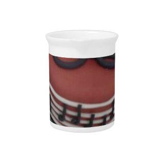 Happy birthday mum cake drink pitcher