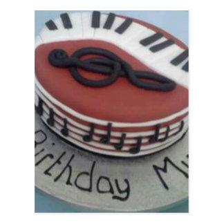Happy birthday mum cake postcard