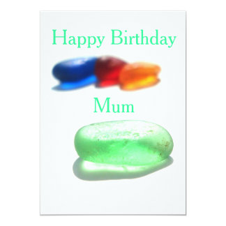 Happy Birthday Mum - or Mom - customise as needed Card