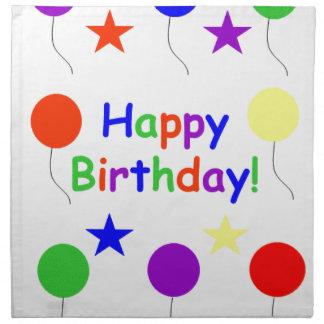 Happy Birthday! Napkin