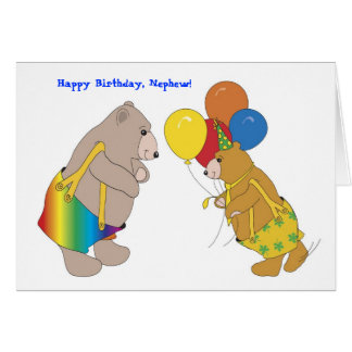 Happy Birthday, Nephew! Greeting Card