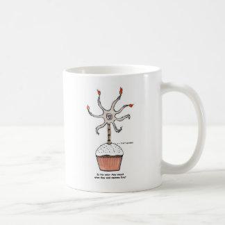 Happy Birthday Neuron Cupcake Coffee Mug
