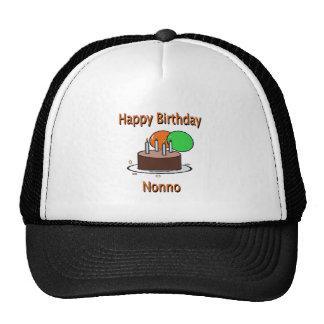 Happy Birthday Nonno Italian Grandpa Birthday Desi Trucker Hats
