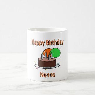 Happy Birthday Nonno Italian Grandpa Birthday Desi Mug