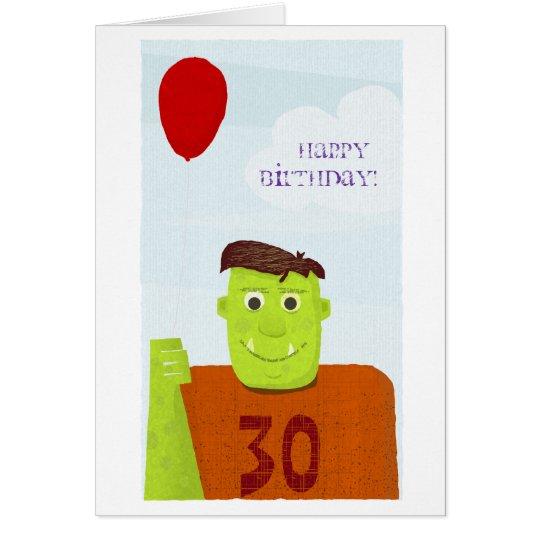 Happy Birthday Ogre (editable text) Card