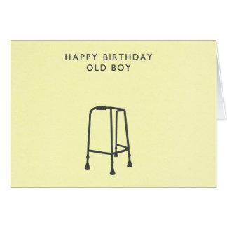 Happy Birthday Old Boy Greeting Card