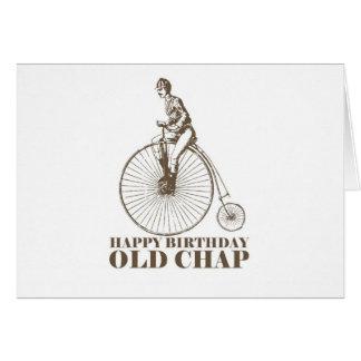 Happy Birthday Old Chap Greeting Card