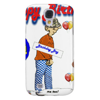 Happy_BirthDay_Over_The_Hill. Galaxy S4 Case