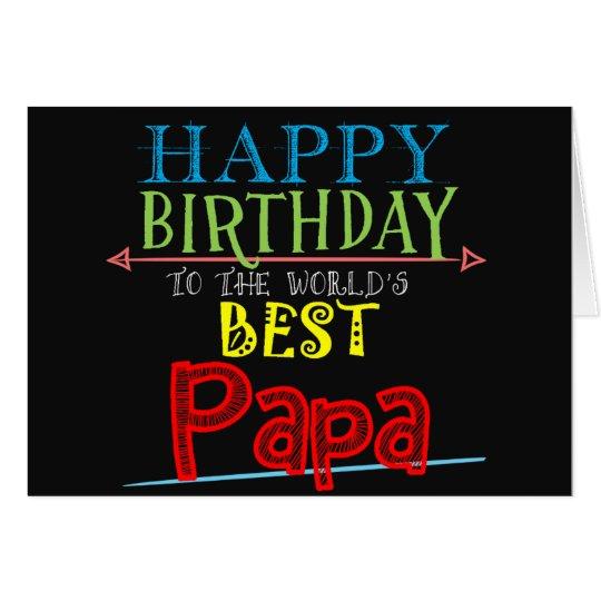 Happy Birthday Papa Card Grandfather Alternative