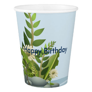 HAPPY BIRTHDAY PAPER CUPS