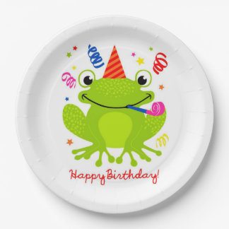 Happy Birthday Paper Plate