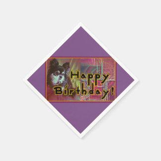 Happy Birthday! Paper Serviettes
