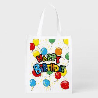 happy Birthday party balloons