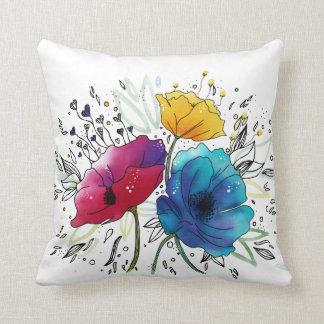 Happy Birthday!Personalized Watercolor Design Cushion