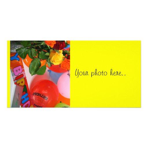 HAPPY BIRTHDAY! PHOTO GREETING CARD