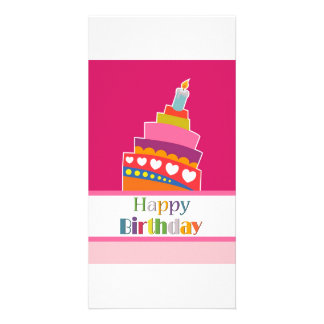 Happy Birthday Photo Greeting Card