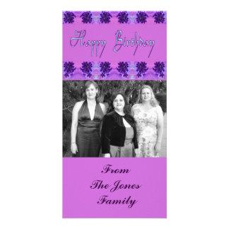 Happy Birthday Custom Photo Card