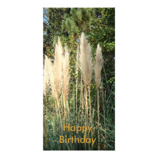 Happy Birthday Photo Card Template