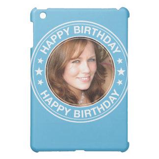 Happy Birthday Picture Frame in Blue iPad Mini Case