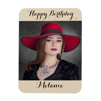 Happy Birthday Picture Magnet
