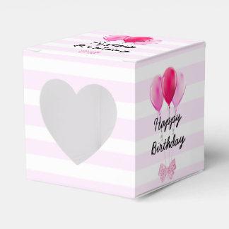 Happy Birthday Pink Happy Birthday Balloons Box