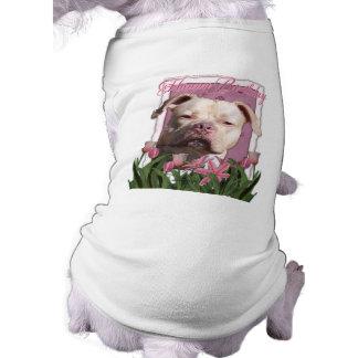 Happy Birthday - Pitbull - Jersey Girl Sleeveless Dog Shirt