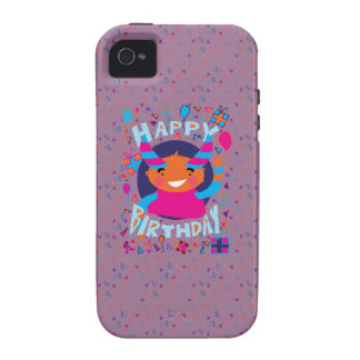 Happy Birthday Playful Monster Case-Mate iPhone 4 Case