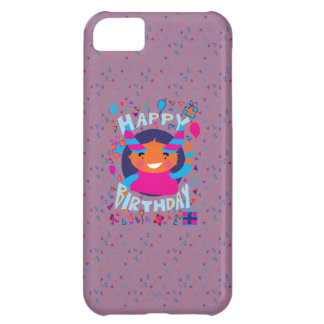 Happy Birthday Playful Monster Case For iPhone 5C