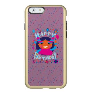 Happy Birthday Playful Monster Incipio Feather® Shine iPhone 6 Case