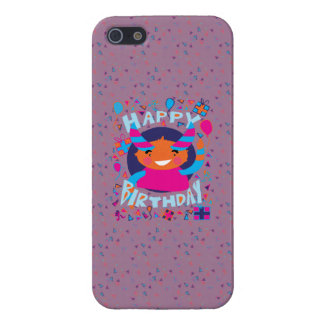 Happy Birthday Playful Monster Case For iPhone 5