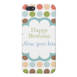 Happy Birthday (poka dots) iPhone 5/5S Cover