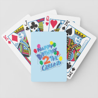Happy Birthday Poker Deck