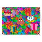 happy birthday poop emoji card