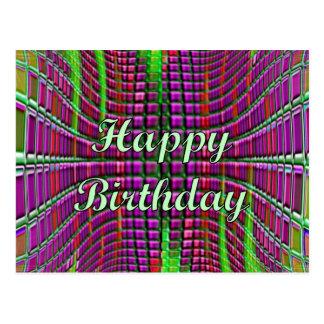Happy Birthday Post Card