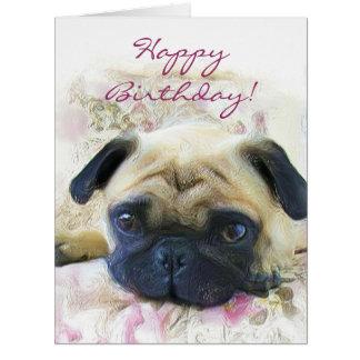 Funny Happy Birthday Pug