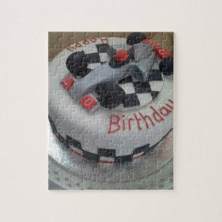 happy birthday racing car puzzles