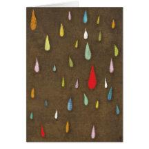 Happy Birthday Rain Card