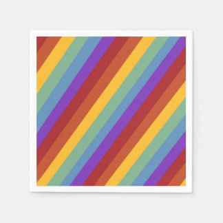 Happy Birthday Rainbow Napkins Disposable Napkin