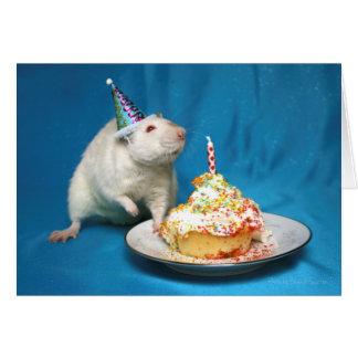 Happy Birthday Rat Card