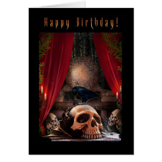 Happy Birthday - Ravens Den Card