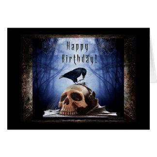 Happy Birthday - Ravens Den Greeting Card