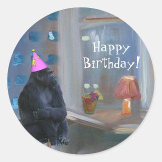Happy Birthday! Round Sticker