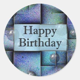 Happy Birthday Round Sticker