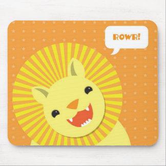Happy Birthday Rowr Lion Mouse Pad